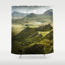 Isle of Skye, Scotland Shower Curtain