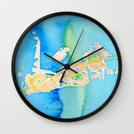Key West, Florida Wall Clock