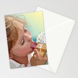 Licking Sprinkles  Stationery Cards