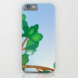 St. John, Virgin Islands - Skyline Illustration by Loose Petal iPhone Case