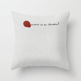 Mr Robot Minimalist Poster Throw Pillow