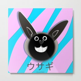 Raby the rabbit! 2 Metal Print