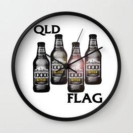 Queensland Flag xxxx Wall Clock