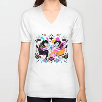 hocus pocus V-neck T-shirts featuring Hocus Pocus! by Muxxi
