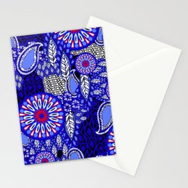 Tribal Patchwork Stationery Cards