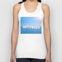 hollywood Tank Tops featuring Sea Hollywood by Lord Solomon's Gallery