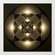 Luminous Mandala Canvas Print