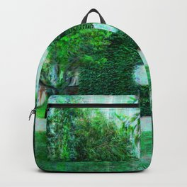 Green Heaven by Lika Ramati Backpack