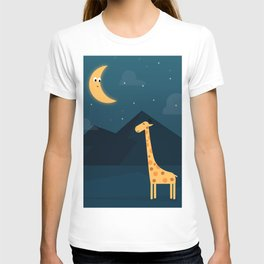 The Giraffe and the Moon T-shirt