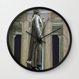Thomas Jefferson Memorial Wall Clock