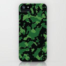 Camo 10 - Swamp Predator iPhone Case