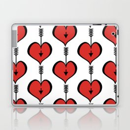 Loving You red hearts Laptop & iPad Skin