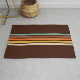 Wanderlust Retro Stripes Rug