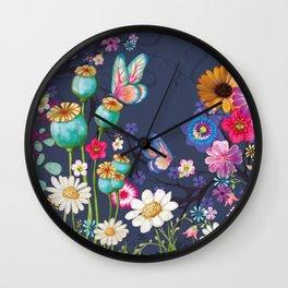 The Meadow Wall Clock
