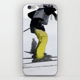 Natural High   - Ski Jump Landing iPhone Skin