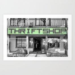 nfty thrfty Art Print