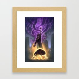 Old Wizard Whateley Framed Art Print