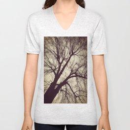 Looming Tree Unisex V-Neck