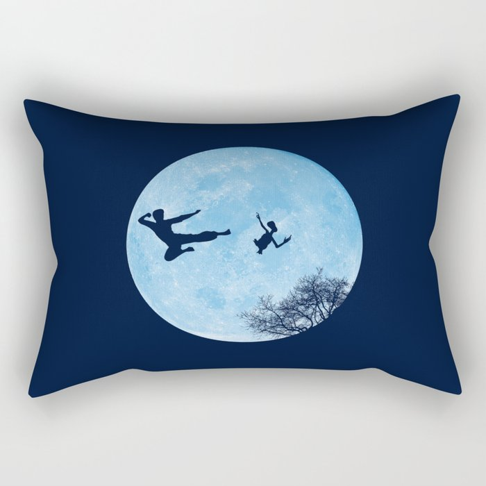 Go Big or Phone Home Rectangular Pillow