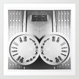 Radio oidaR Art Print