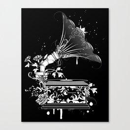 Nostalgic Gramophone Canvas Print