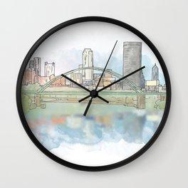 Birmingham Bridge Wall Clock