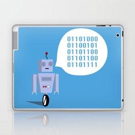How to Greet a Robot Laptop & iPad Skin