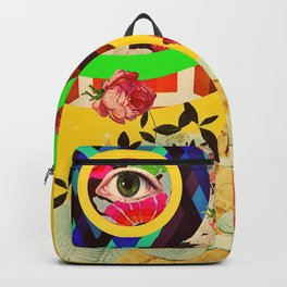 My Heart Filled Madness Backpack