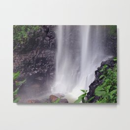 Whispering Waterfalls Metal Print
