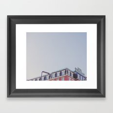 Top of the Charm Framed Art Print