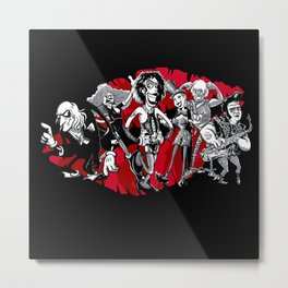 RHPS - gang of six toon party Metal Print