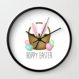 Hoppy Easter Wall Clock