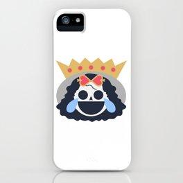 Brook Emoji Design iPhone Case