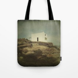 Once Upon a Time a Lonely House Tote Bag