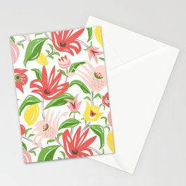 Island Garden Floral Stationery Cards