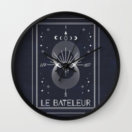 The Magician or Le Bateleur Tarot Wall Clock