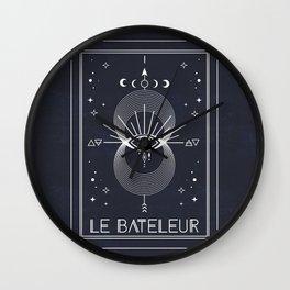 The Magician or Le Bateleur Tarot Wall Clock