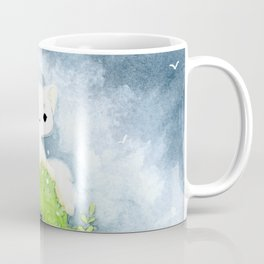 White fox Coffee Mug