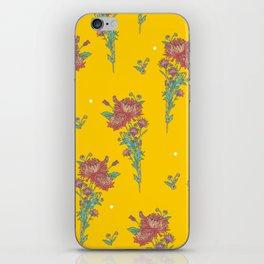 chrysanthemum_yellow iPhone Skin