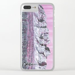 Castle Mountain Clear iPhone Case
