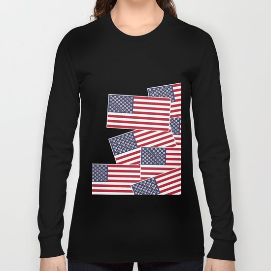 United States of Soccer Long Sleeve T-shirt
