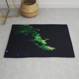 Galaxy: Green Witch's Head Nebula Rug
