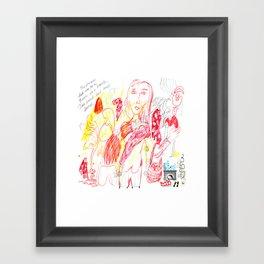 Matisse's Fireplace Framed Art Print