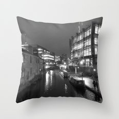 Broad St Reflections Throw Pillow