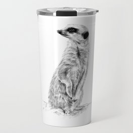 Meerkat in Charge Travel Mug