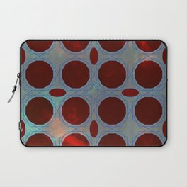 Pattern 3 Red Laptop Sleeve