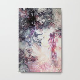 Hades and Persephone: First encounter Metal Print
