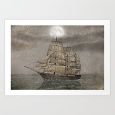 Night Journey  Art Print