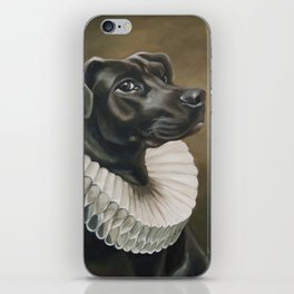 Portrait of a Young Doggo iPhone Skin