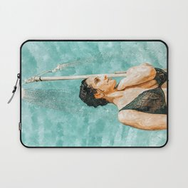 Bathe #painting #illustration Laptop Sleeve
